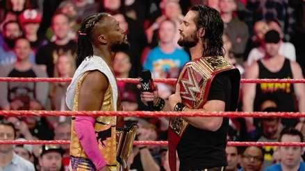 Fanáticos de WWE corean nombre de compañía rival en protesta por la pelea central de RAW