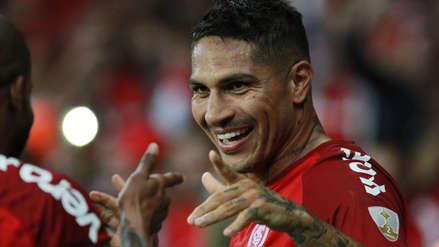 Con doblete de Paolo Guerrero, Internacional clasificó a los  octavos de final de la Copa Libertadores