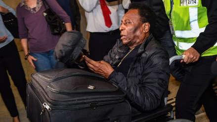 Pelé fue dado de alta tras cinco días hospitalizado