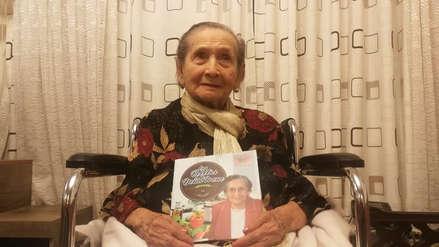 'Las recetas de Doña Irene': la chiclayana que a los 101 años publicó su primer recetario