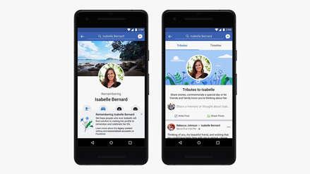 Facebook añade nuevas funciones para perfiles de personas fallecidas
