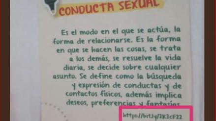 Retiran textos escolares con contenido sexual 'inapropiado' en La Libertad