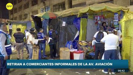Municipalidad de Lima realizó megaoperativo para liberar de ambulantes la avenida 28 de Julio