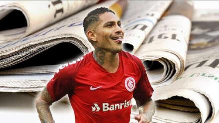 Así reaccionó la prensa internacional tras el doblete de Paolo Guerrero en la Copa Libertadores