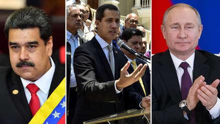 ¿Qué opina Juan Guaidó sobre el apoyo de Rusia a la dictadura de Nicolás Maduro? Esto le dijo a RPP