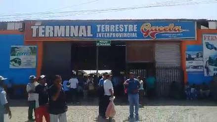 """Cerraron terminal """"Nororiente"""" por riesgo eléctrico y de infraestructura"""