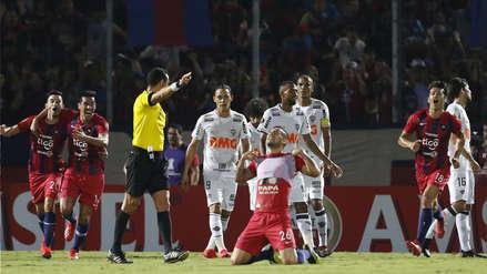 Cerro Porteño goleó 4- 1 a Atlético Mineiro y clasificó a los octavos de la Copa Libertadores