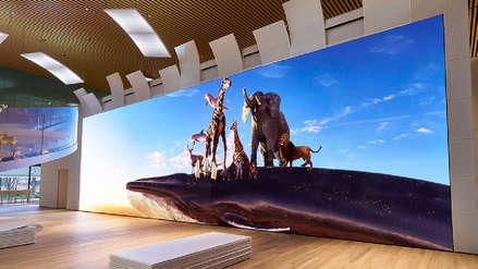 Para tu maratón de Netflix: Sony presenta una TV de 16K y casi 20 metros de largo