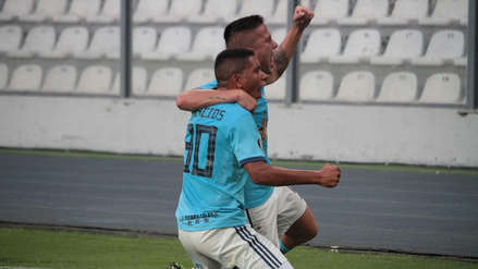 El gol de Cristian Palacios que puso el 1-0 para Sporting Cristal ante U. de Concepción por Copa Libertadores