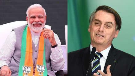 Narendra Modi es el político más popular en Facebook y Jair Bolsonaro el más activo