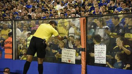 Diego Haro y el noble gesto en la previa del Boca Juniors vs. Wilstermann