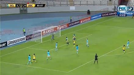 ¡Increíble!: la gran atajada de Patricio Álvarez en partido de Sporting Cristal ante U. de Concepción