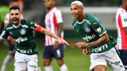 Palmeiras goleó 3-0 a Junior de Barranquilla por la fecha 4 de la Copa Libertadores