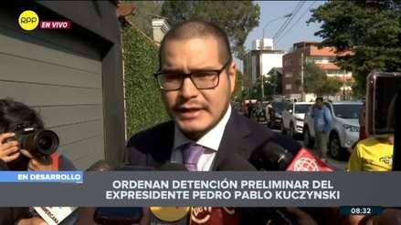 Defensa de PPK anuncia que apelará la orden de detención preliminar y la considera