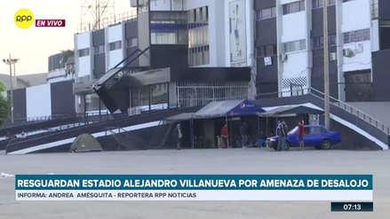 Hinchas de Alianza Lima durmieron en el estadio de Matute ante rumores de una nueva toma