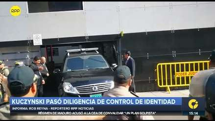 PPK pasó diligencia de control de identidad y retornó a la Prefectura para cumplir su detención preliminar