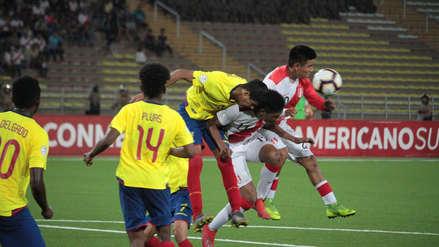 Perú empató 1-1 ante Ecuador y aún sueña con clasificar al Mundial Sub 17
