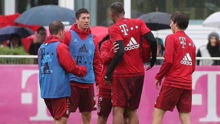 Golpes e insultos en el último entrenamiento del Bayern Múnich