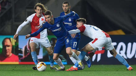 Chelsea derrotó 1-0 a Slavia Praga por los cuartos de final de Europa League