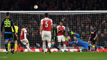 Arsenal vs. Napoli: resumen del minuto a minuto del partido por cuartos de final de Europa League