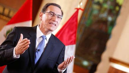"""Martín Vizcarra: """"Estamos cansados de escuchar que el Ejecutivo controla el Poder Judicial ¡Eso es mentira!"""""""