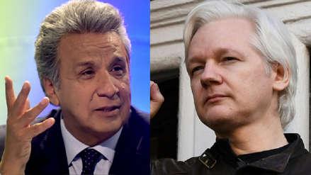Lenín Moreno sobre Julian Assange: