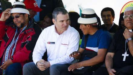 Las Bambas | Salvador del Solar garantiza la presencia del Estado en Cotabambas