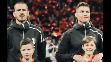 Cristiano Ronaldo y su emotivo gesto con un niño que es viral en redes sociales