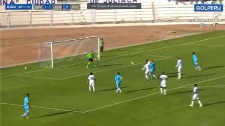 Donald Millán marcó un golazo y colocó el 2-0 en partido de Binacional ante San Martin