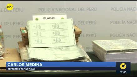 Policía incautó 5 millones de dólares falsificados en galería del Cercado de Lima