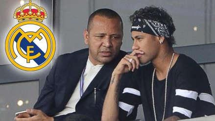 El contundente mensaje del padre de Neymar al Real Madrid