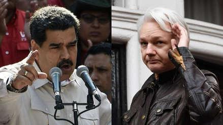 Nicolás Maduro dice que Julian Assange corre peligro de muerte si es deportado a EE.UU.