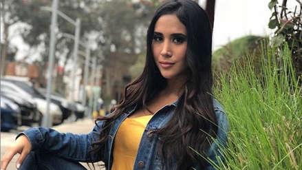 Melissa Paredes denunció que sufre acoso en redes sociales: