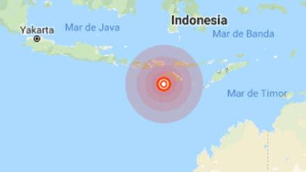 Terremoto de magnitud 6,8 sacudió Indonesia y desata alerta de tsunami [video]