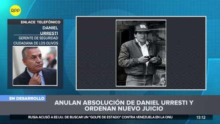 """Daniel Urresti tras la anulación de su absolución: """"Estoy preparado incluso para ser prisionero de guerra"""""""