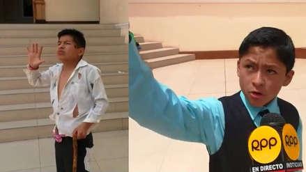 César Vallejo: Los dos escolares que conmueven con la declamación de sus poemas (Video)