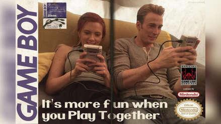 Avengers: Endgame | Capitán América y Viuda Negra se divierten jugando con unos Game Boy