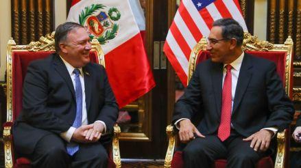 Mike Pompeo, secretario de Estado de Donald Trump, llegó a Perú para tratar la crisis en Venezuela