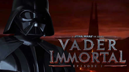 Facebook presenta 'Vader Inmortal', el nuevo juego de Star Wars en realidad virtual