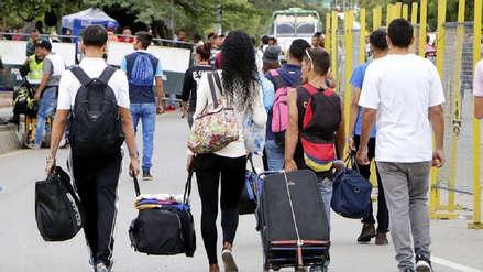 Dos aviones trasladan a más de 170 inmigrantes venezolanos a su país de origen desde Ecuador