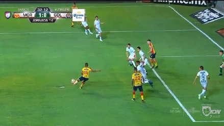 ¡Paren las 'Orejas'! Edison Flores marcó su tercer gol con Monarcas Morelia ante Chivas