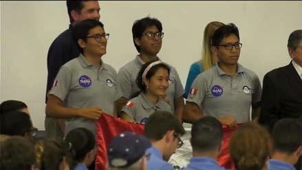 Estudiantes de la UNI ganan en concurso de la NASA con prototipo de vehículo lunar
