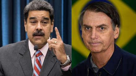 Maduro pide a militares de Brasil parar