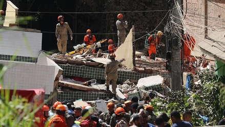 Al menos dos muertos en el derrumbe de dos edificios en Río de Janeiro