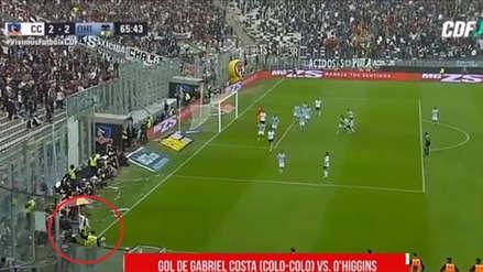 Gabriel Costa anotó un golazo olímpico en el triunfo de Colo Colo