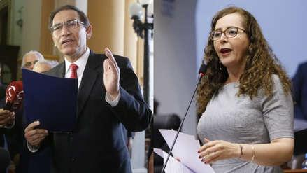 """Rosa Bartra: A Martín Vizcarra """"ya no le funciona el circo de arremeter contra el Congreso"""