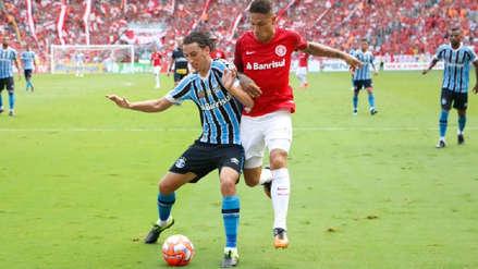 Con Paolo Guerrero de titular, Inter igualó 0-0 con Gremio en la final de ida del Campeonato Gaucho