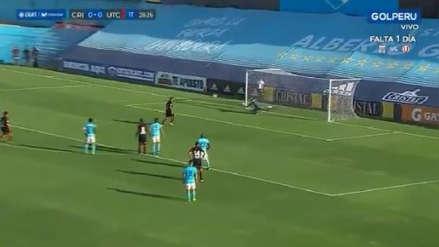 Nervios de acero: Sergio Almirón 'picó' penal y le dio la ventaja a UTC sobre Sporting Cristal con su gol