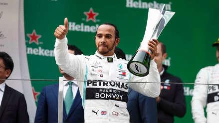 Lewis Hamilton ganó en China y lidera el Campeonato Mundial de Fórmula 1