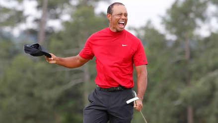 ¡Como el Ave Fénix! Tiger Woods vuelve hacer historia al ganar el masters de Augusta